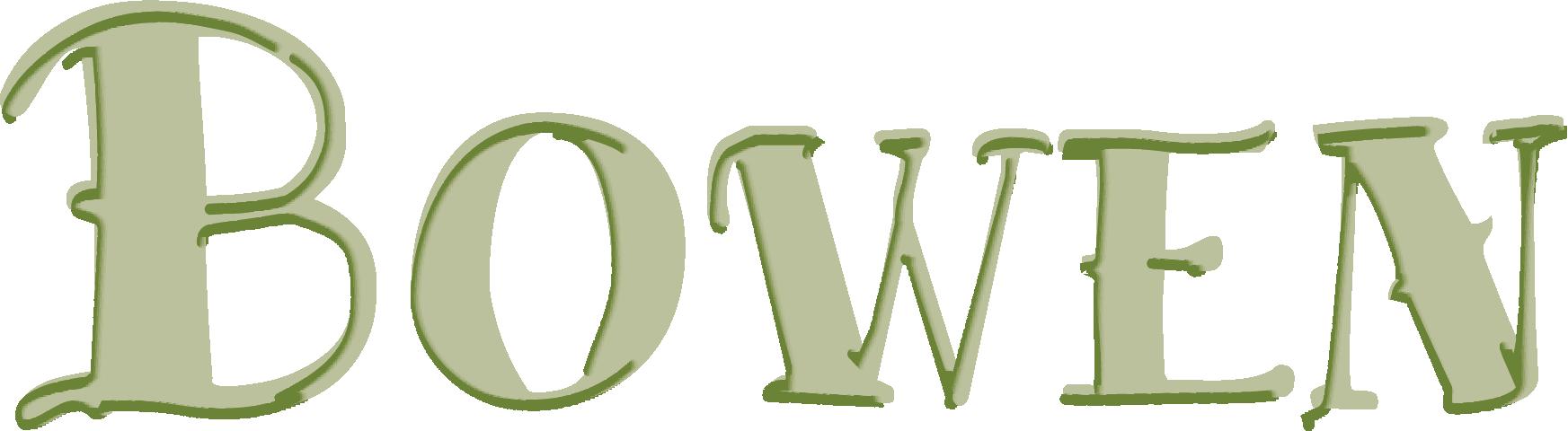 Bowen Text Logo-Green_4c
